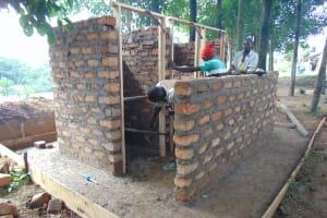 The Water Project: Boyani Primary School -  Latrine Construction