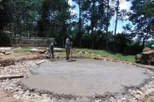 The Water Project: Boyani Primary School -  Concrete Reinforcement For Foundation