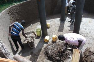 The Water Project: Boyani Primary School -  Inside Plastering