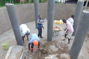 The Water Project: Boyani Primary School -  Plastering Inside