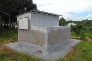 The Water Project: Boyani Primary School -  Vip Latrine Block