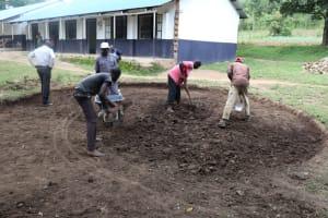 The Water Project: Friends School Shivanga Secondary -  Rain Tank Site Excavation