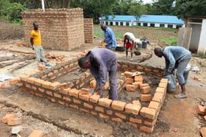The Water Project: Friends School Shivanga Secondary -  Latrine Construction