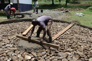 The Water Project: Friends School Shivanga Secondary -  Laying The Foundation
