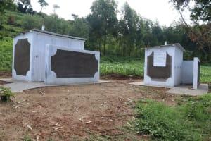 The Water Project: Friends School Shivanga Secondary -  The Two Blocks Of Vip Latrines At Shivanga Secondary