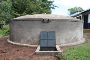 The Water Project: Friends School Shivanga Secondary -  Water Tank At Shivanga Secondary School