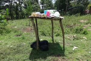 The Water Project: Mahira Community, Anunda Spring -  Dish Rack