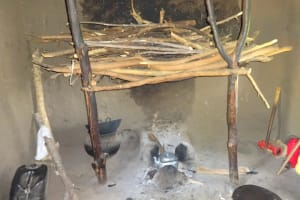 The Water Project: Mahira Community, Anunda Spring -  Inside The Kitchen