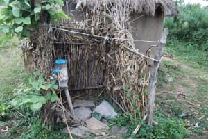 The Water Project: Nguvuli Community, Busuku Spring -  Bathing Room