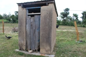 The Water Project: Nguvuli Community, Busuku Spring -  Bathing Shelter