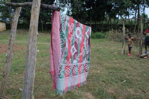 The Water Project: Nguvuli Community, Busuku Spring -  Clothesline