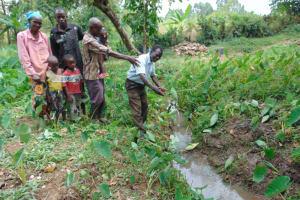 The Water Project: Nguvuli Community, Busuku Spring -  Community Members At Busuku Spring