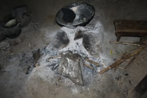 The Water Project: Nguvuli Community, Busuku Spring -  Fireplace Inside Kitchen