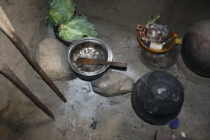 The Water Project: Nguvuli Community, Busuku Spring -  Kitchen Interior