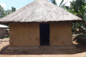 The Water Project: Shihome Community, Peter Majoni Spring -  Outside The Kitchen