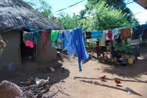 The Water Project: Indulusia Community, Yakobo Spring -  Clothesline