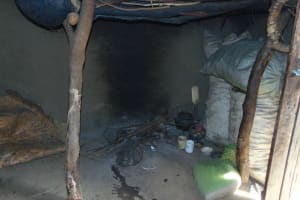 The Water Project: Indulusia Community, Yakobo Spring -  Inside Kitchen