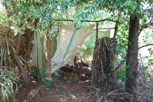 The Water Project: Indulusia Community, Yakobo Spring -  Inside The Bathing Shelter