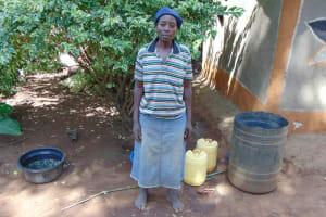 The Water Project: Indulusia Community, Yakobo Spring -  Mrs Jane Isaiah