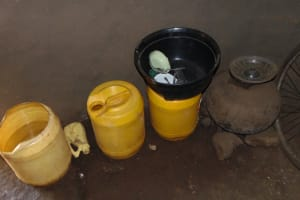 The Water Project: Indulusia Community, Yakobo Spring -  Water Storage