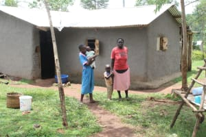 The Water Project: Makale Community, Luyingo Spring -  A Sample Household In The Community