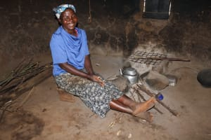 The Water Project: Makale Community, Luyingo Spring -  Beatrice Inside Her Kitchen