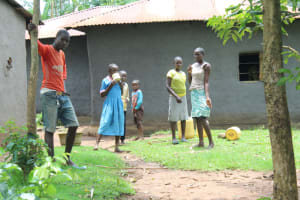 The Water Project: Makale Community, Luyingo Spring -  Community Children