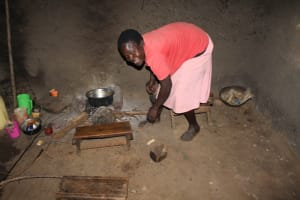 The Water Project: Makale Community, Luyingo Spring -  Cooking