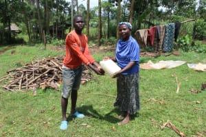 The Water Project: Makale Community, Luyingo Spring -  Handwashing Teamwork