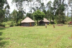 The Water Project: Makale Community, Luyingo Spring -  Traditional Compound