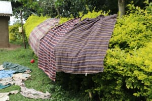 The Water Project: Shitavita Community, Patrick Burudi Spring -  Air Drying Clothes