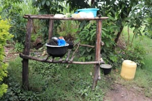 The Water Project: Shitavita Community, Patrick Burudi Spring -  Dishrack
