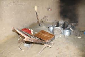 The Water Project: Shitavita Community, Patrick Burudi Spring -  Inside Kitchen