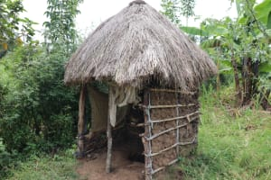 The Water Project: Shitavita Community, Patrick Burudi Spring -  Latrine