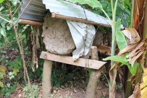 The Water Project: Shitavita Community, Patrick Burudi Spring -  Traditional Beehive