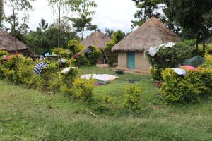 The Water Project: Shitavita Community, Patrick Burudi Spring -  Traditional Compound
