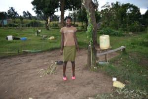 The Water Project: Silungai B Community, Tali Saya Spring -  Rabecah