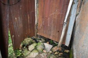 The Water Project: Mukhungula Community, Mulongo Spring -  Bathing Room Interior