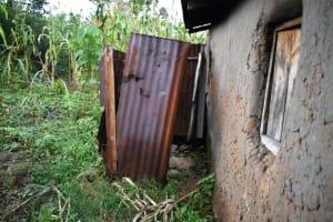 The Water Project: Mukhungula Community, Mulongo Spring -  Bathing Room