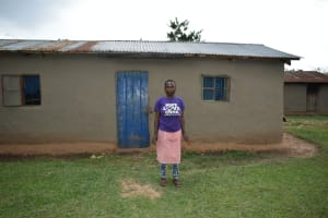 The Water Project: Mukhungula Community, Mulongo Spring -  Nelly Mulongo At Her Home