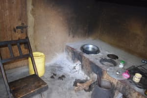The Water Project: Kaketi Community B -  Cooking Area