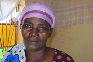 The Water Project: Kaketi Community B -  Elizabeth Nzuki Farmer