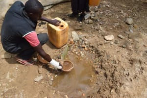 The Water Project: Kaketi Community B -  Fetching Water