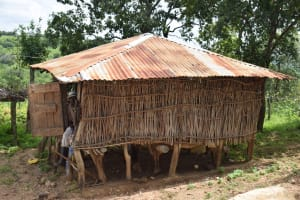 The Water Project: Kaketi Community B -  Grain House