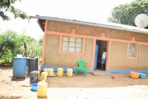 The Water Project: Kaketi Community B -  Homestead