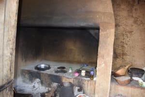 The Water Project: Kaketi Community B -  Inside Kitchen