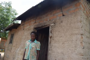 The Water Project: Kaketi Community B -  Standing In Front Of The Kitchen