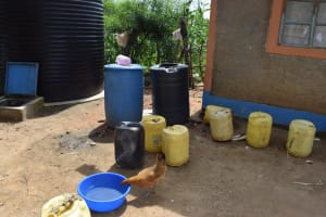 The Water Project: Kaketi Community B -  Water Storage Containers