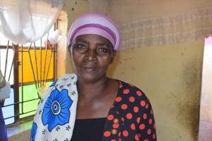 The Water Project: Kaketi Community C -  Elizabeth Nzuki Farmer