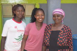 The Water Project: Kaketi Community C -  Family